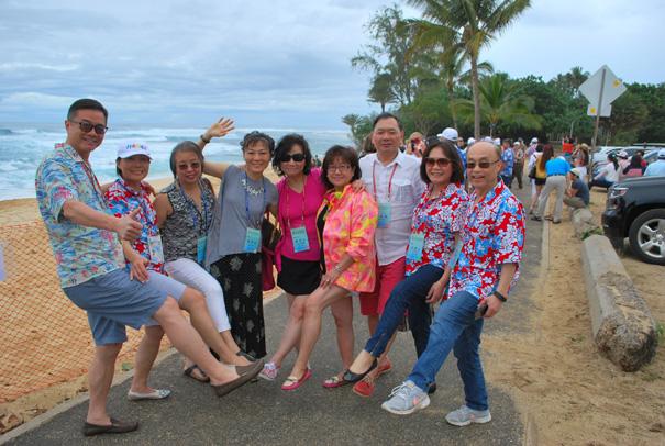第三十屆第二次理監事聯席會議  夏 威 夷 歐 胡 島 一 日 遊