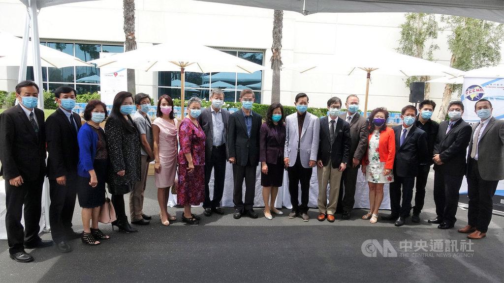 美國台灣商會募款3000萬元 購台灣製口罩行善